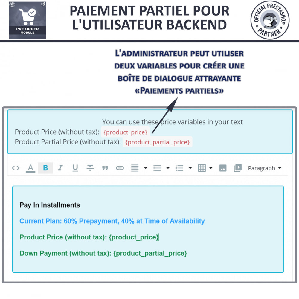 module - Inscription & Processus de commande - Pre Order & Waiting List Notification - 14