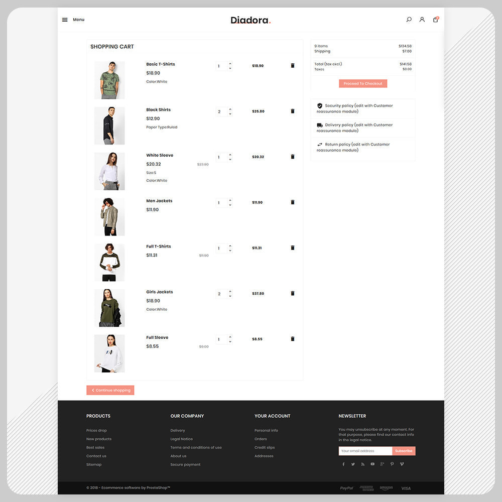 theme - Fashion & Shoes - Diadora Fashion Big Mall - 5