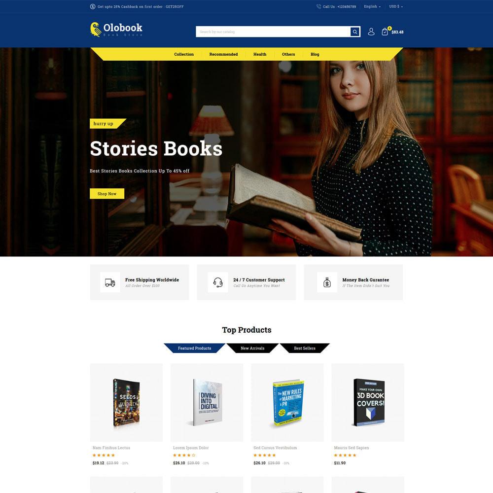 theme - Home & Garden - Olobook - Book Shop - 2
