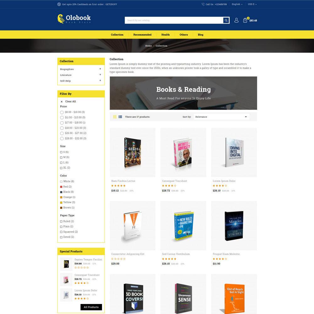 theme - Home & Garden - Olobook - Book Shop - 3