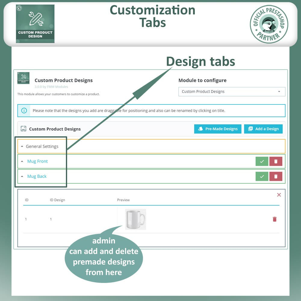 module - Combinations & Product Customization - Custom Product Designer, Product Customization - 17