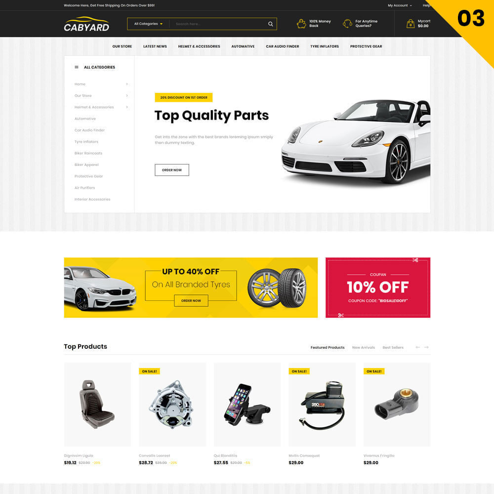 theme - Auto's & Motoren - Cabyard - The Multishop Car Dealershop - 5