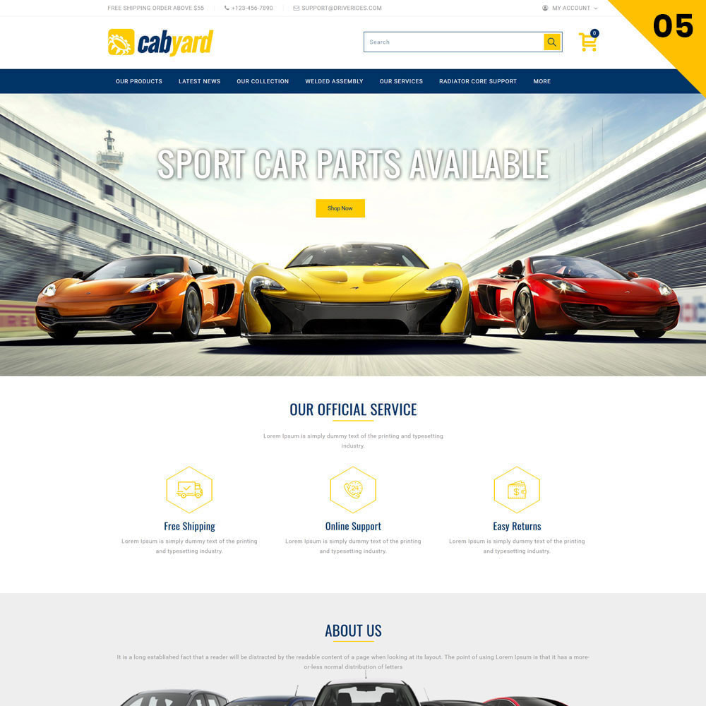 theme - Auto's & Motoren - Cabyard - The Multishop Car Dealershop - 7