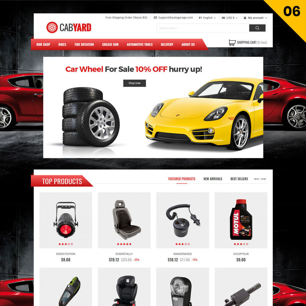 theme - Auto's & Motoren - Cabyard Car Dealer - 8