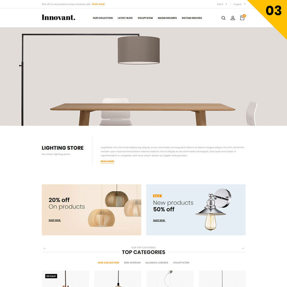 theme - Casa & Jardins - Innovant - The Furniture Store - 5