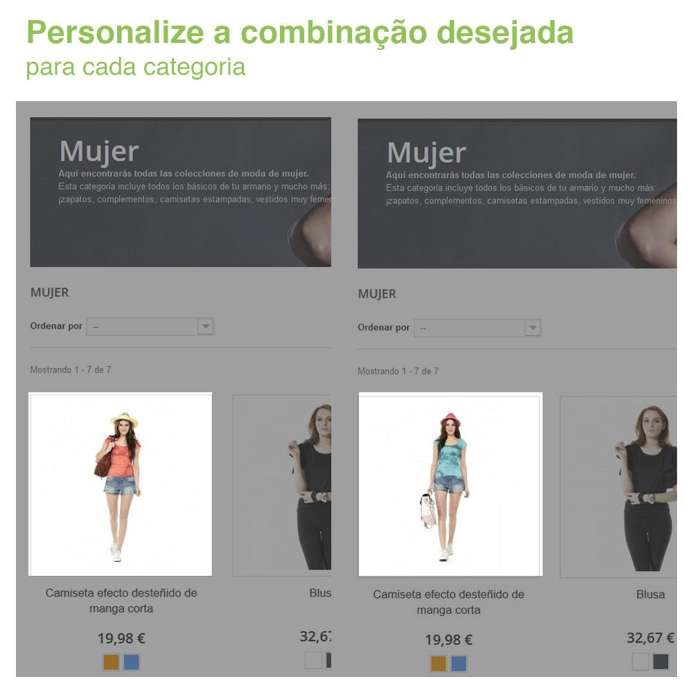 module - Diversificação & Personalização de Produtos - Combinação de atributos personalizados para categoria - 2
