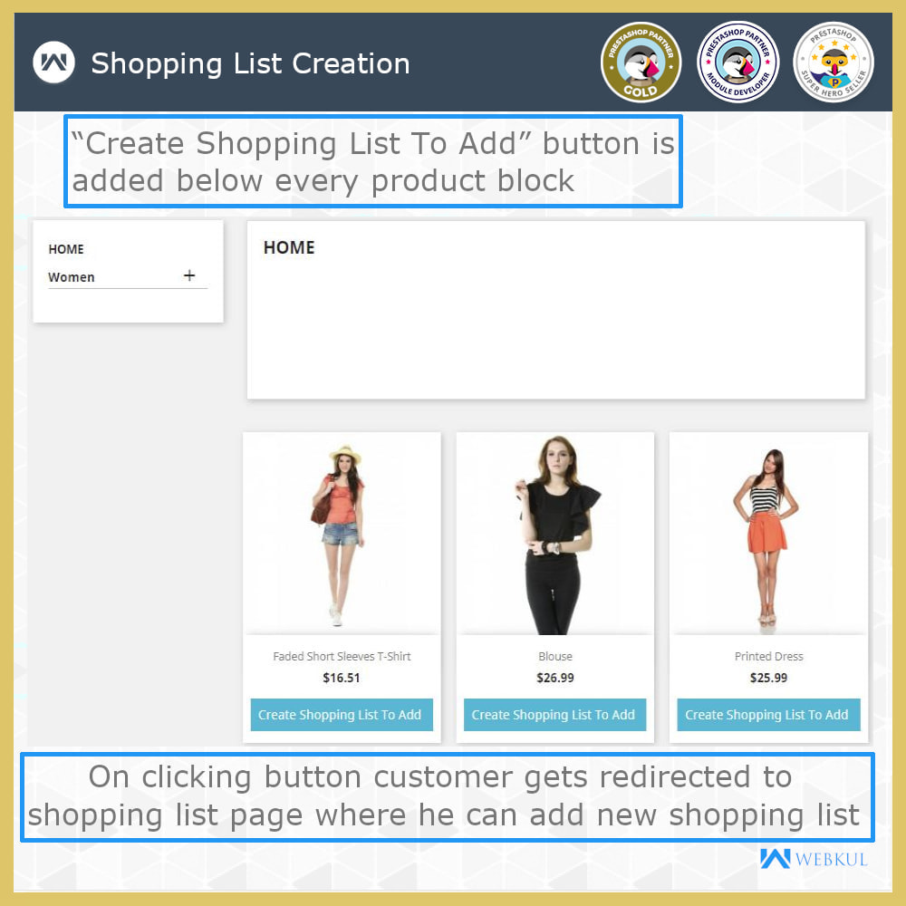 module - Registration & Ordering Process - Shopping List | Multi Wish list - 4
