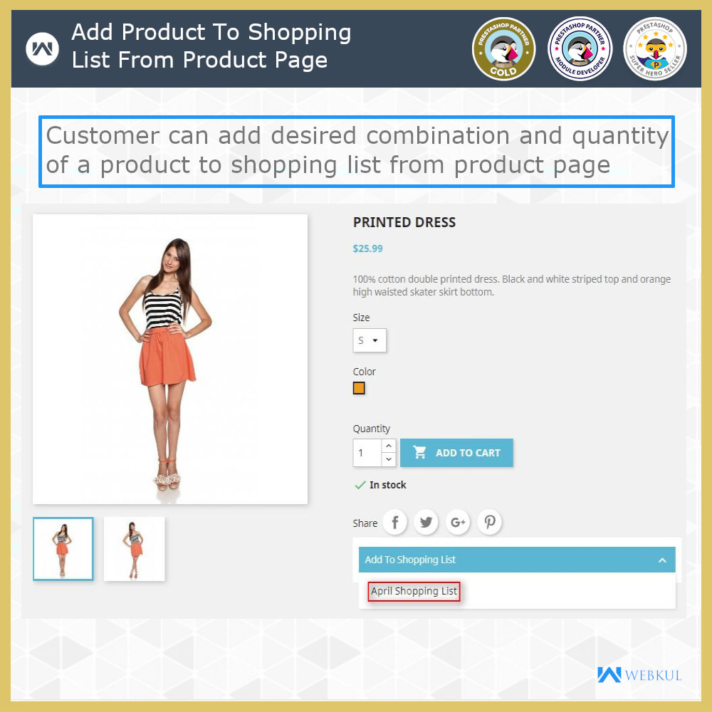 module - Registration & Ordering Process - Shopping List | Multi Wish list - 10