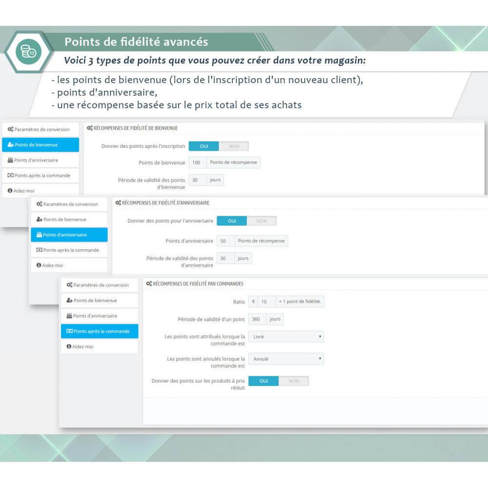 module - Fidélisation & Parrainage - Points de fidélité avancés - 1