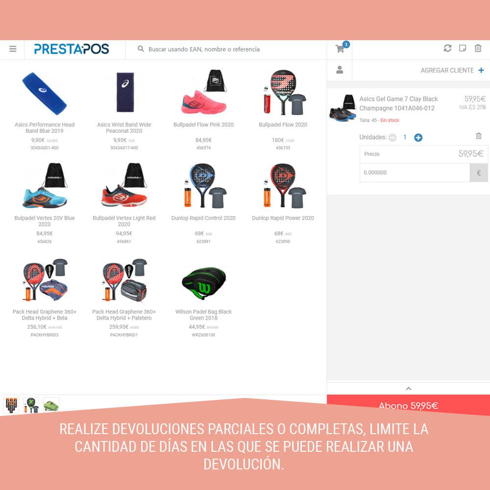 module - Pago en Tienda física (TPV físico) - Prestapos TPV : POS Punto de venta para tiendas - 8