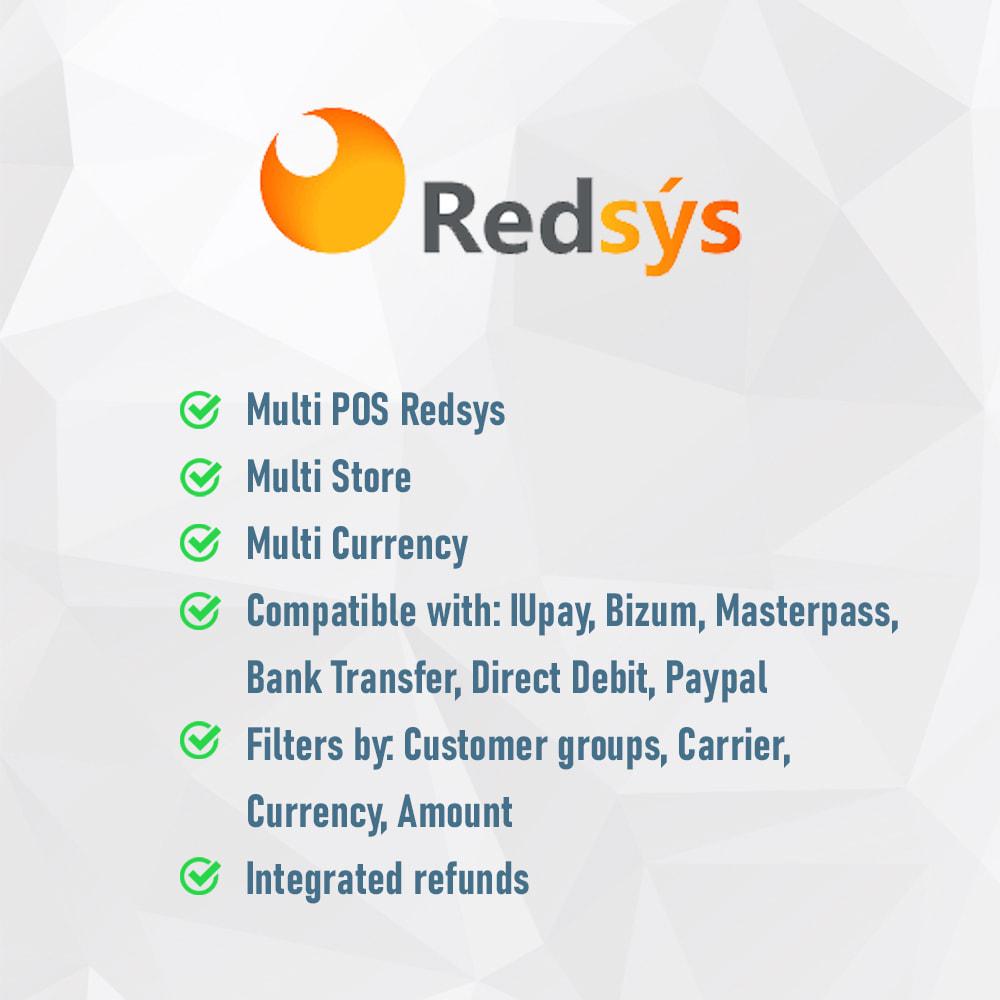 module - Pagamento por cartão ou por carteira - REDSYS COMPLETE POS (Refunds + Pay with mobile: Bizum) - 2