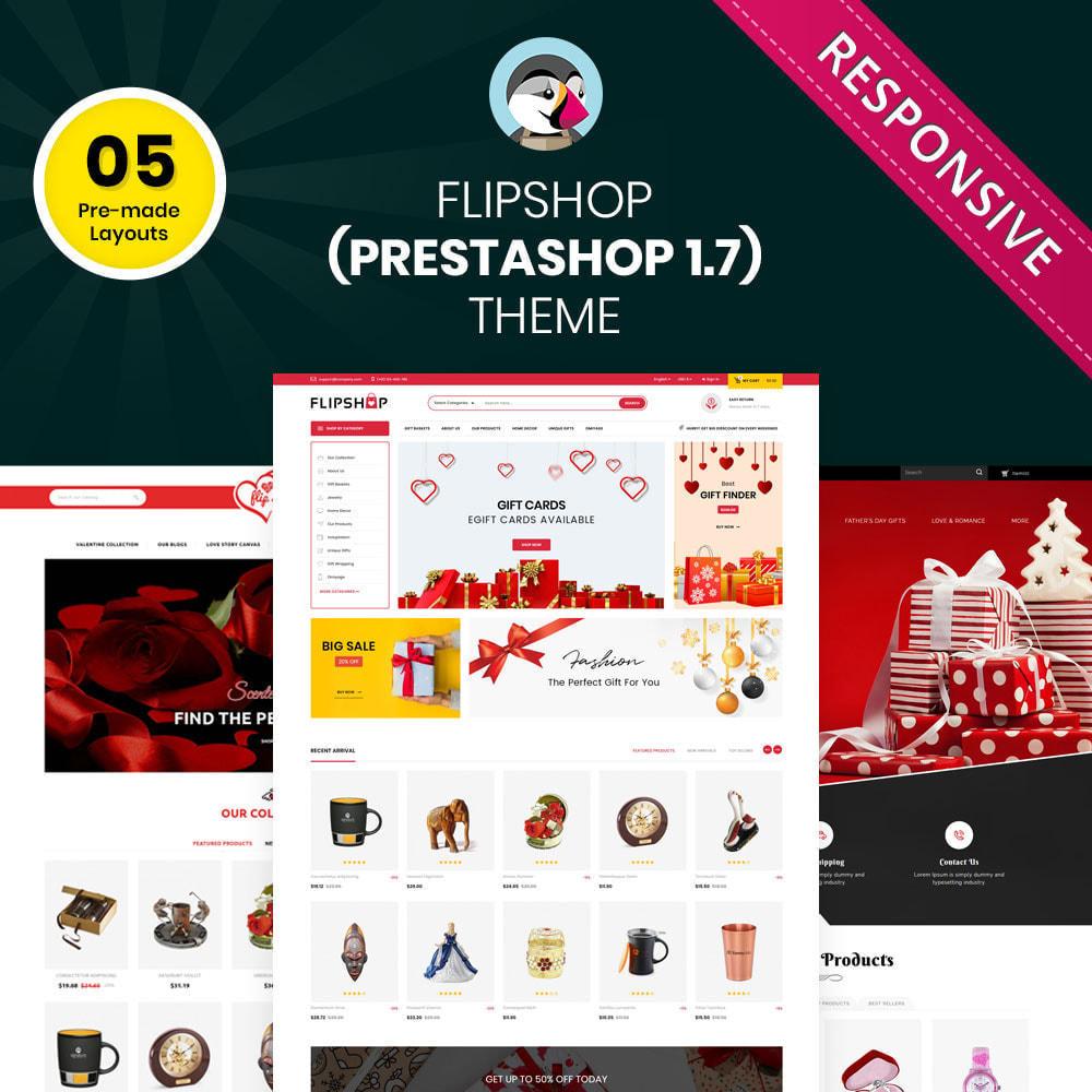 theme - Cadeaux, Fleurs et Fêtes - Flipshop - La boutique de cadeaux - 2