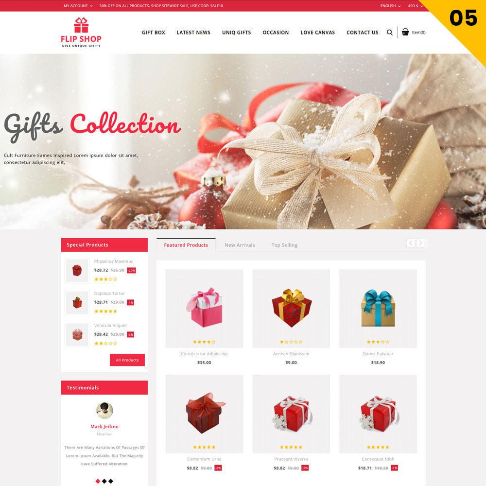 theme - Cadeaux, Fleurs et Fêtes - Flipshop - La boutique de cadeaux - 8