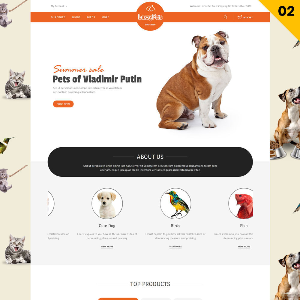 theme - Animais - lazzypets - The Animal Store - 4