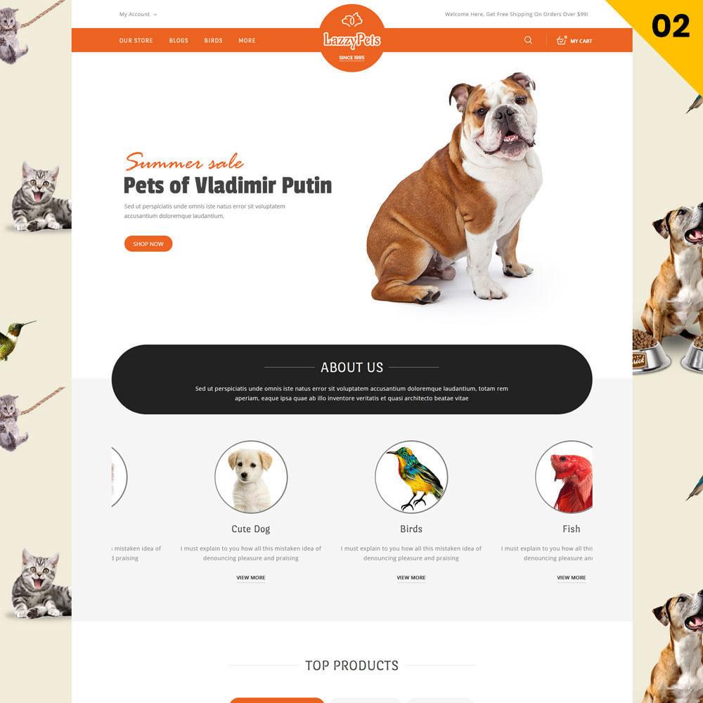 theme - Animales y Mascotas - lazzypets - la tienda de animales - 4
