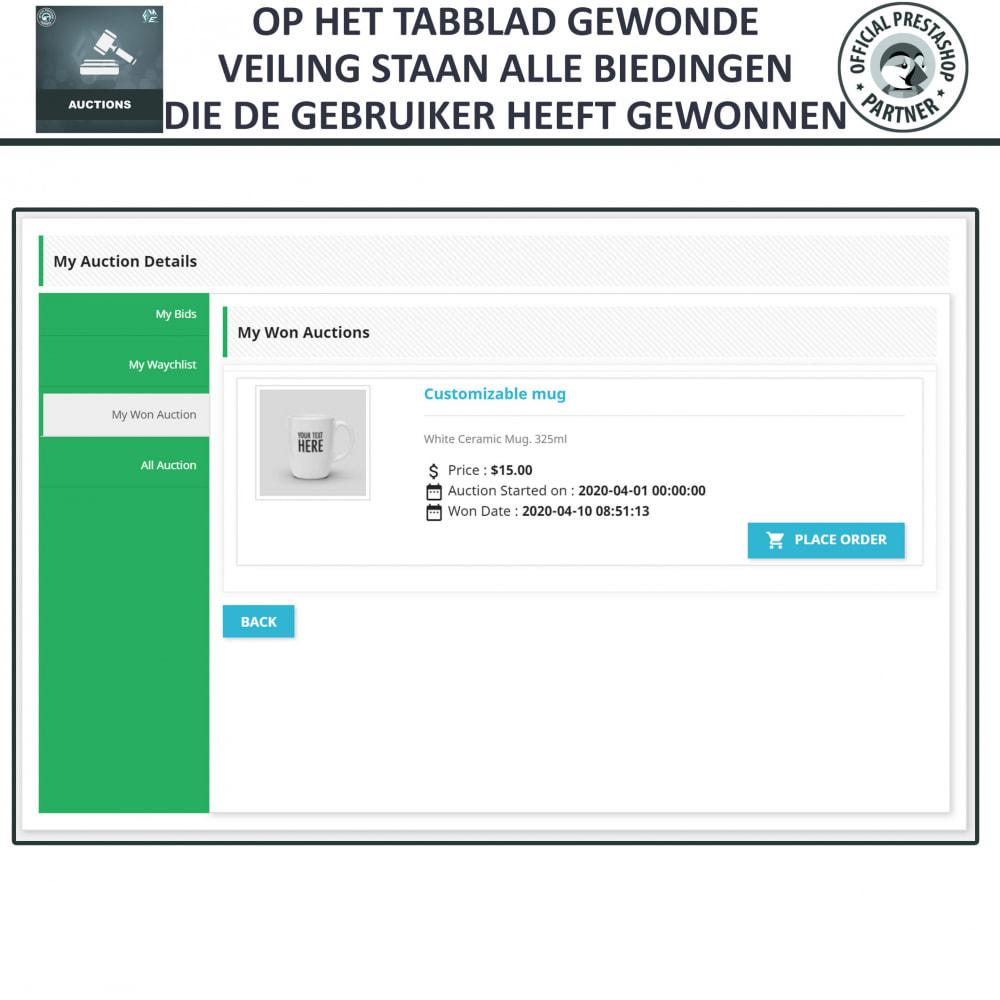 module - Bouw een veilingsite - Auction Pro, Online veilingen en biedingen - 25