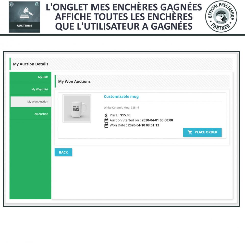 module - Site d'enchères - Enchères Pro - Système d'enchères en ligne - 22