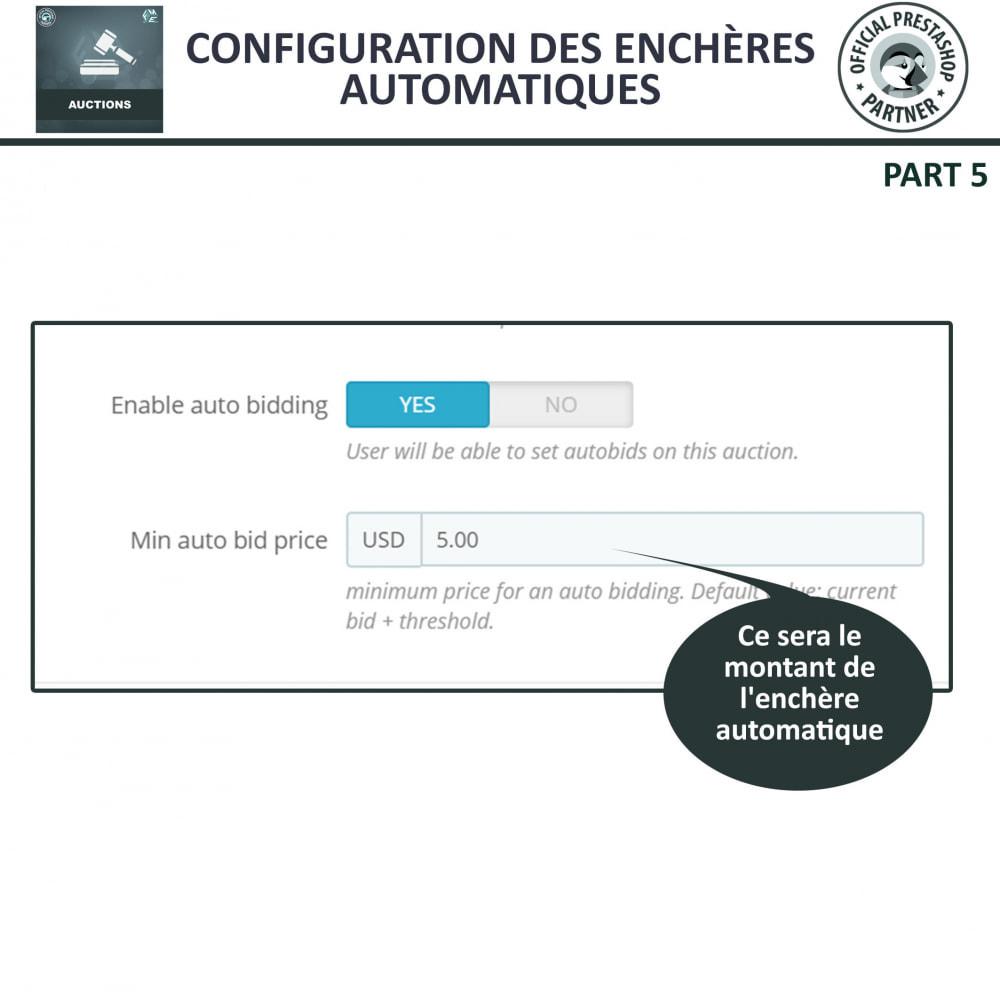 module - Site d'enchères - Enchères Pro - Système d'enchères en ligne - 10