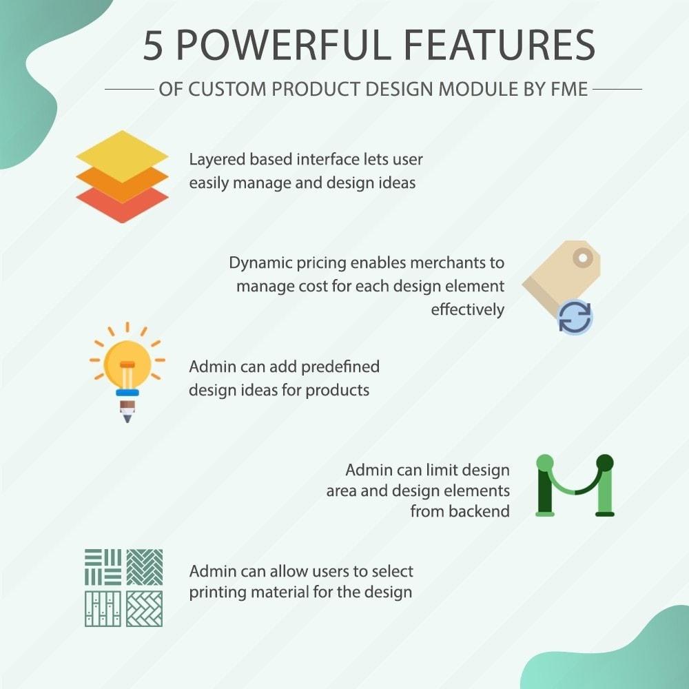 module - Versies & Personalisering van producten - Maatwerk Product Ontwerper, Product Aanpassingen - 1