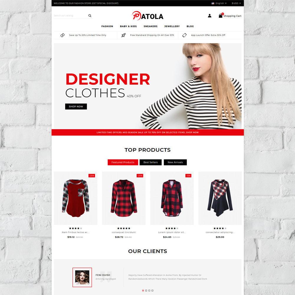 theme - Fashion & Shoes - Patola - Fashion Store - 2