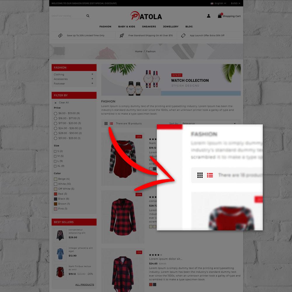 theme - Moda & Calçados - Patola - Fashion Store - 7