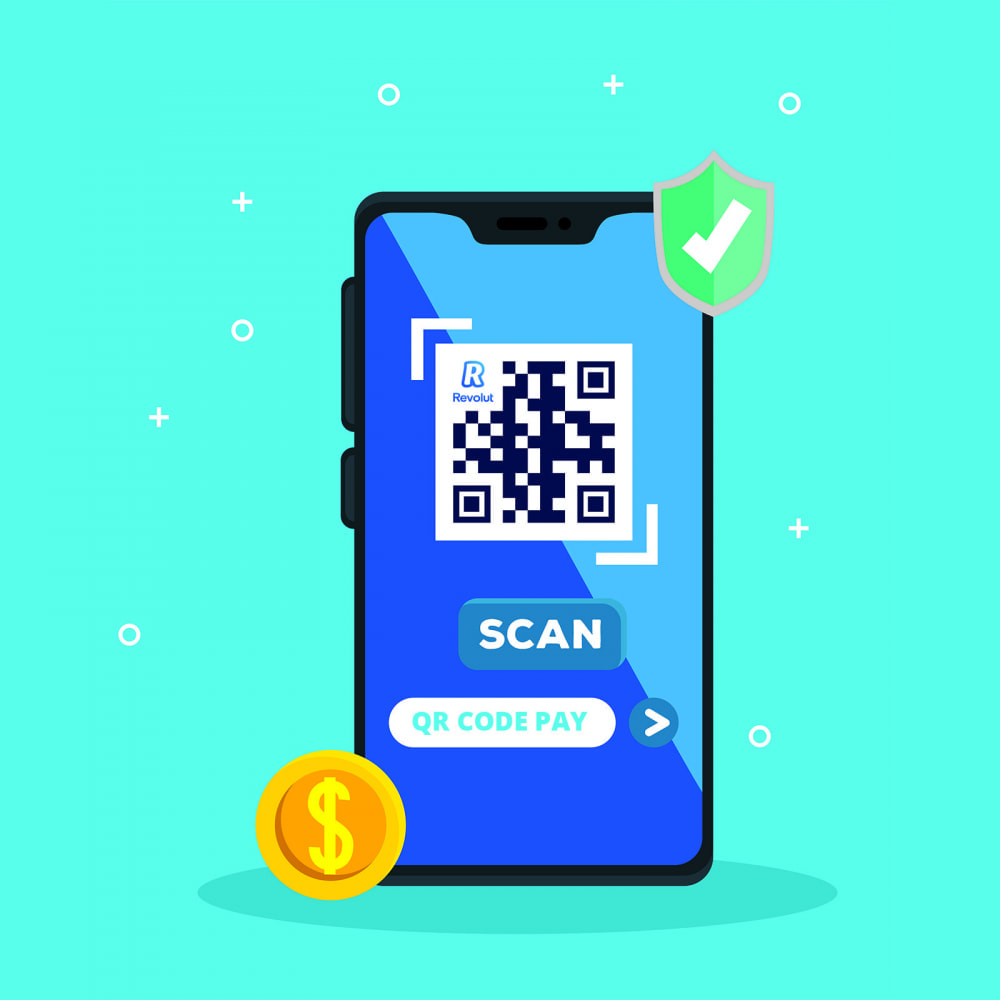 module - Pagamento con Carta di Credito o Wallet - REVOLUT.ionary Payments with QR Code - 2