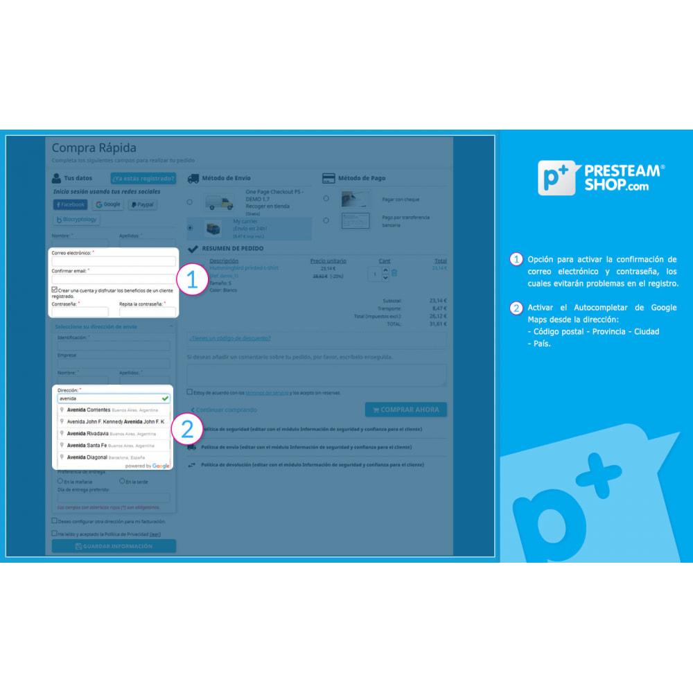 module - Proceso rápido de compra - One Page Checkout PS (Fácil, Rápido e Intuitivo) - 3