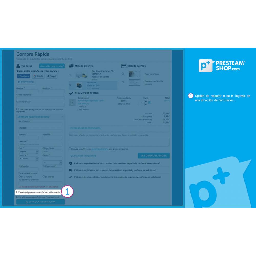 module - Proceso rápido de compra - One Page Checkout PS (Fácil, Rápido e Intuitivo) - 6
