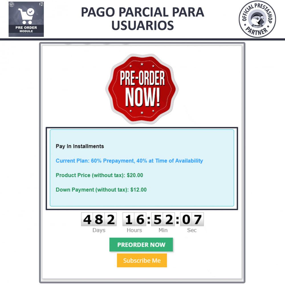 module - Inscripción y Proceso del pedido - Pre-orden y Lista de Espera - 5