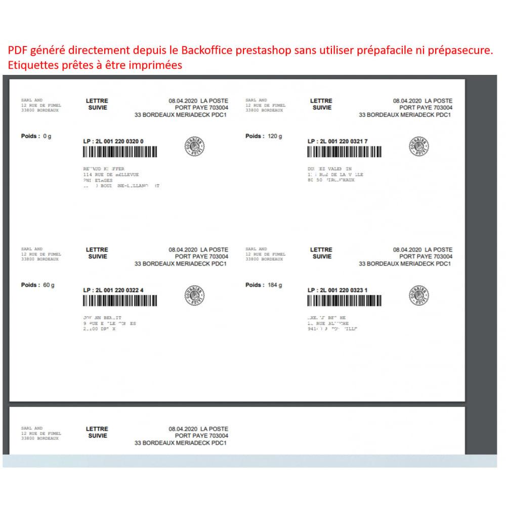 module - Badge & Loghi - labeling port paye poste - 1