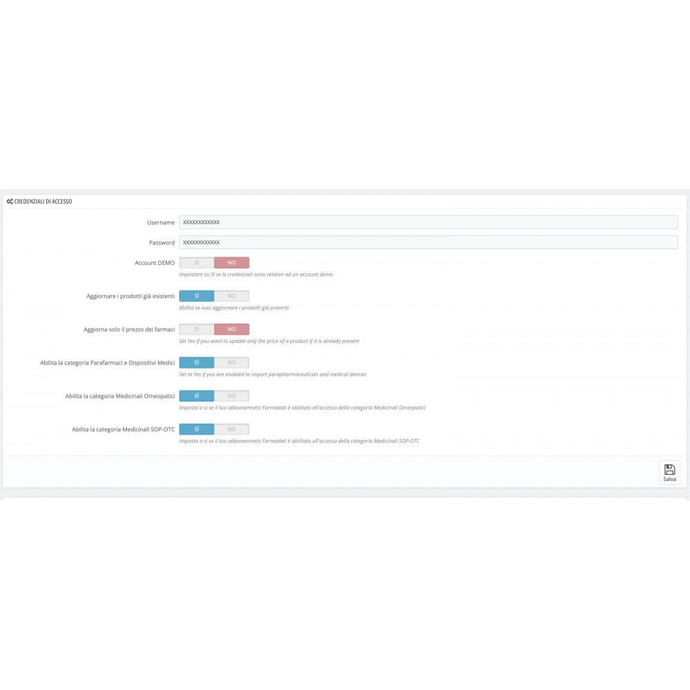 module - Data Import & Export - Importazione FarmaDati - Massivo - 6