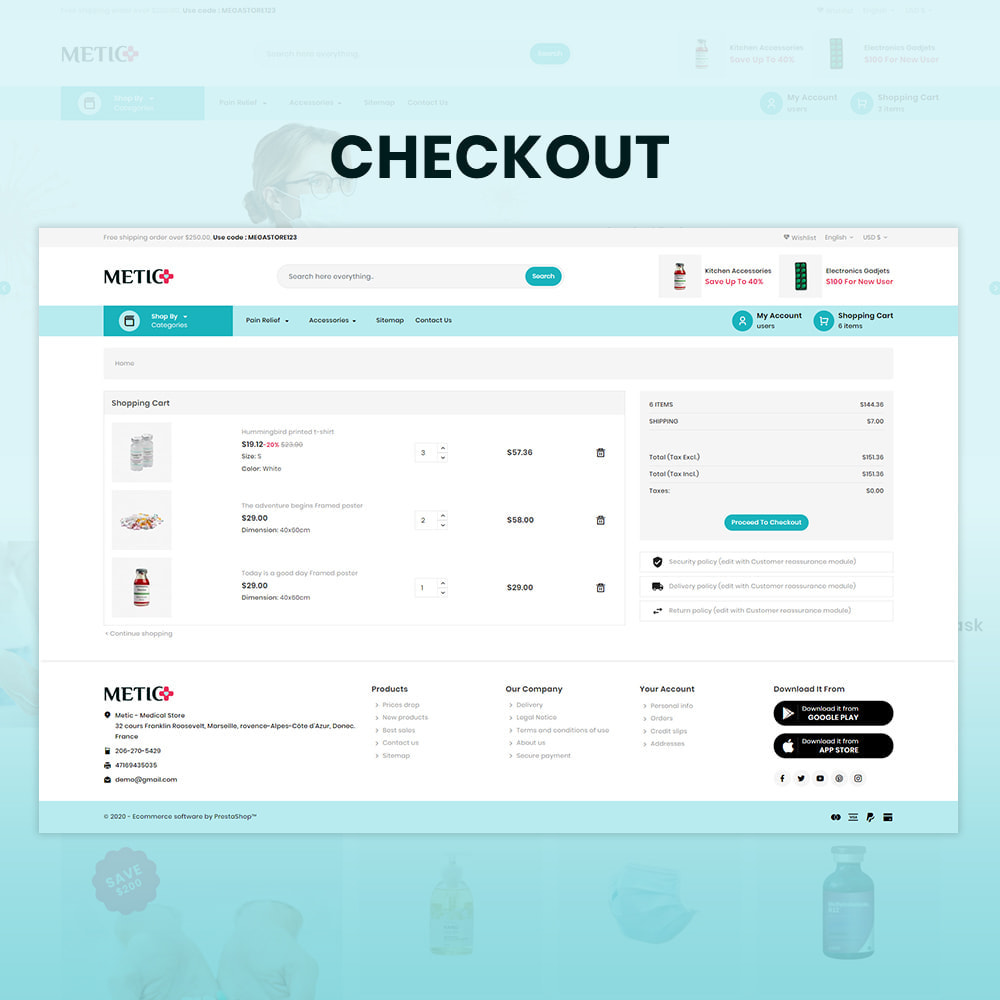 theme - Health & Beauty - Metic - Medical Supplies Store - 5