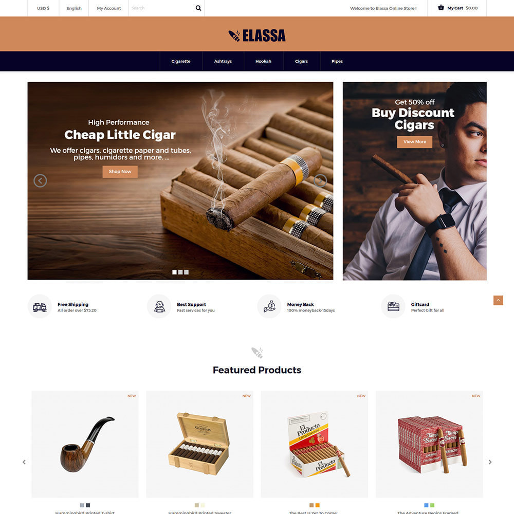 theme - Drink & Tobacco - Cigar Drink   Alcohol - Wine Tobacco  Store - 2