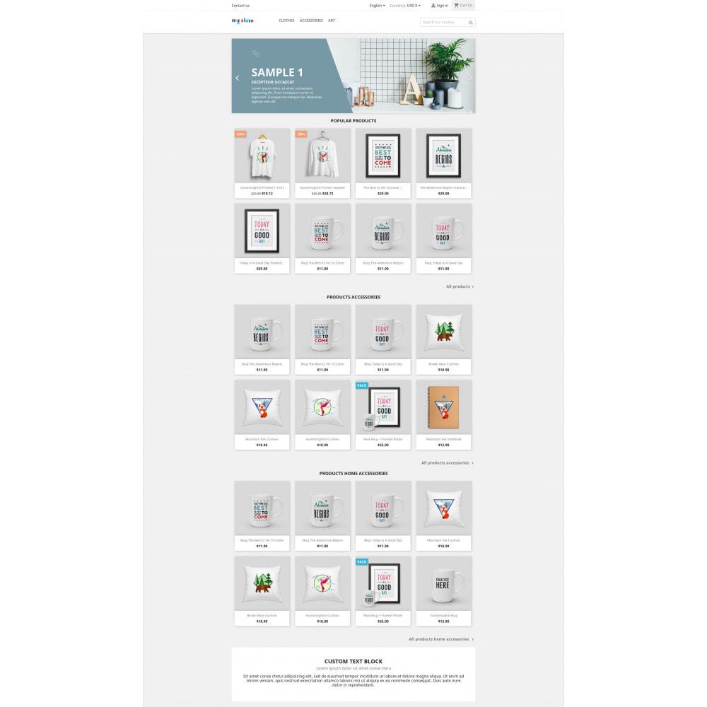 module - Produits en page d'accueil - Home Product by Category - Blocs produits par catégorie - 1