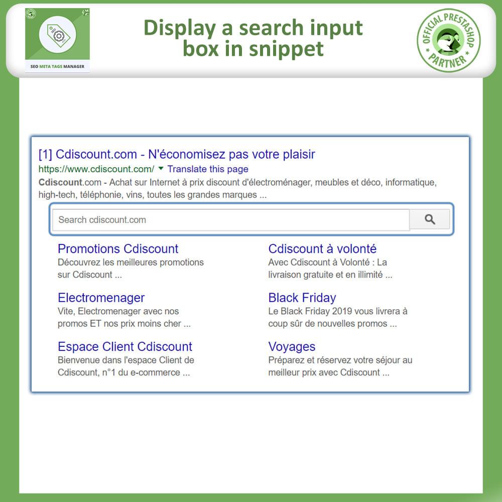 module - SEO (Referenciamento natural) - Meta Tag Manager - AutoGenerate SEO Title & Description - 2