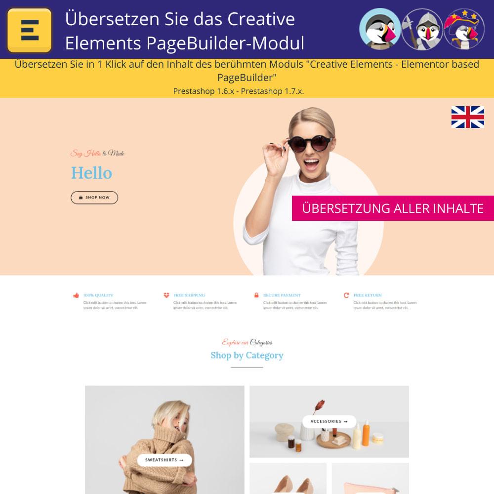 module - Internationalisierung & Lokalisierung - Übersetzen Sie den Creative Elements PageBuilder - 3