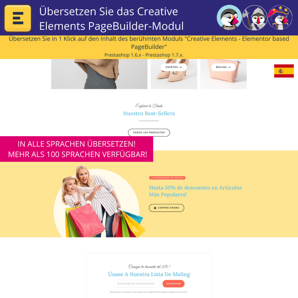 module - Internationalisierung & Lokalisierung - Übersetzen Sie den Creative Elements PageBuilder - 4