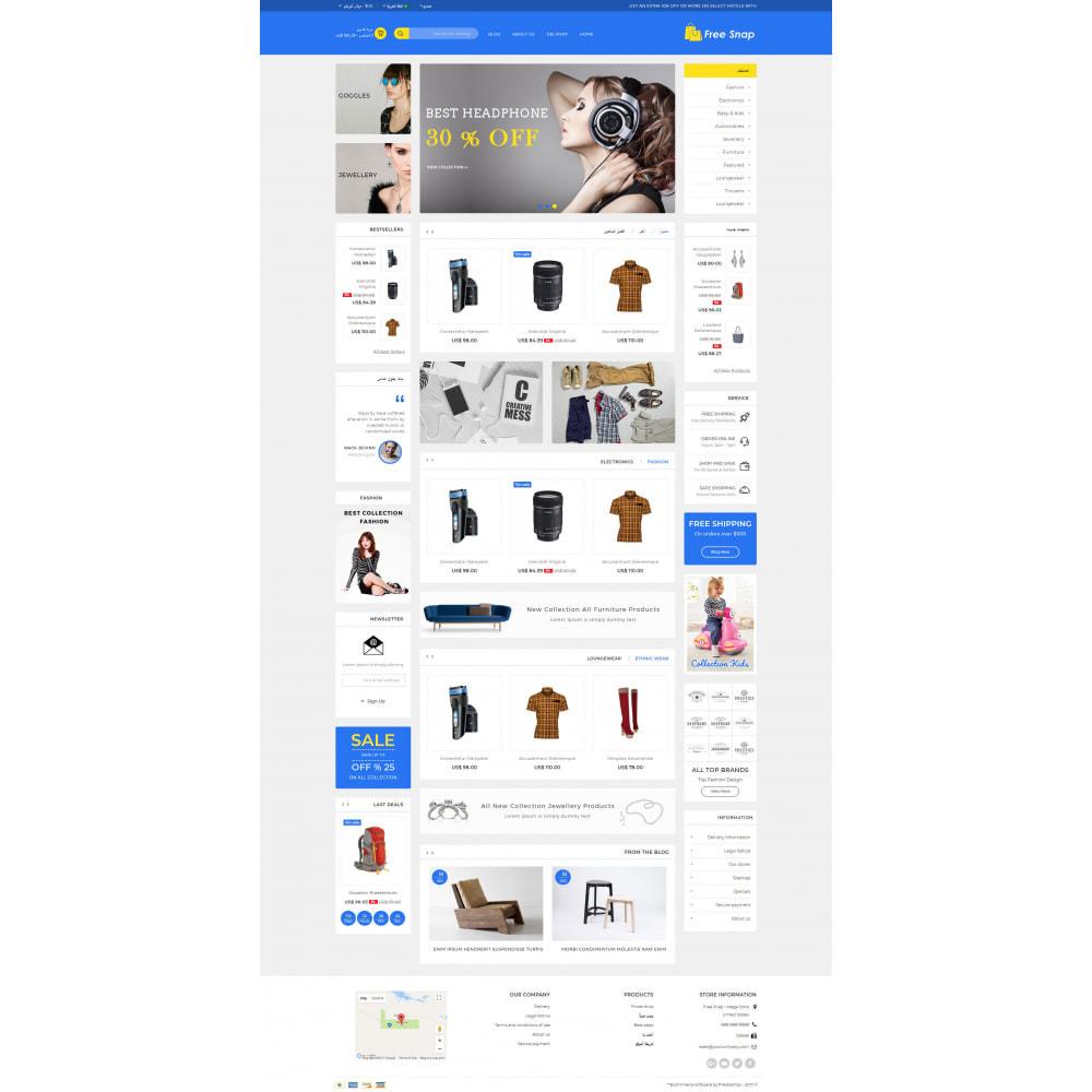 theme - Fashion & Shoes - Free Snap - Multipurpose Store - 10