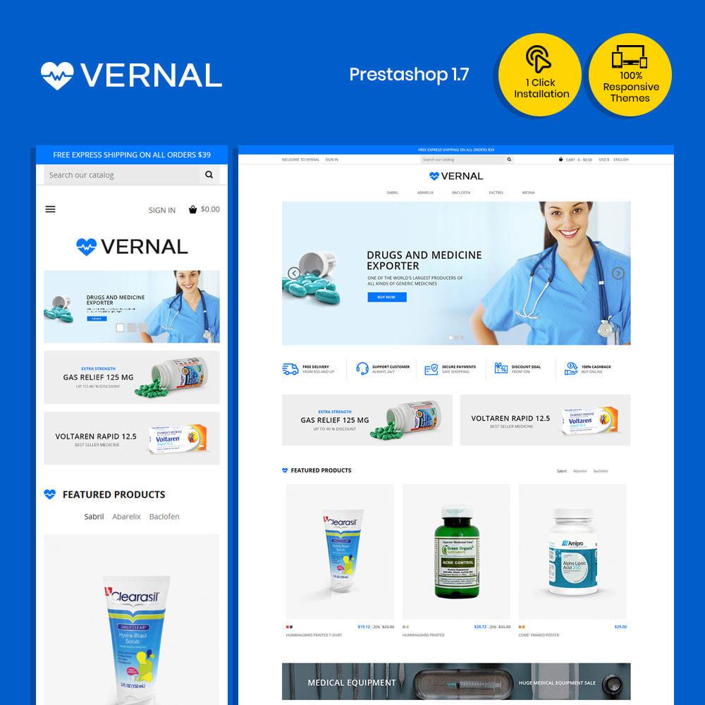 theme - Health & Beauty - Bio Medical - Health, Drug, Pharmacy Store - 1