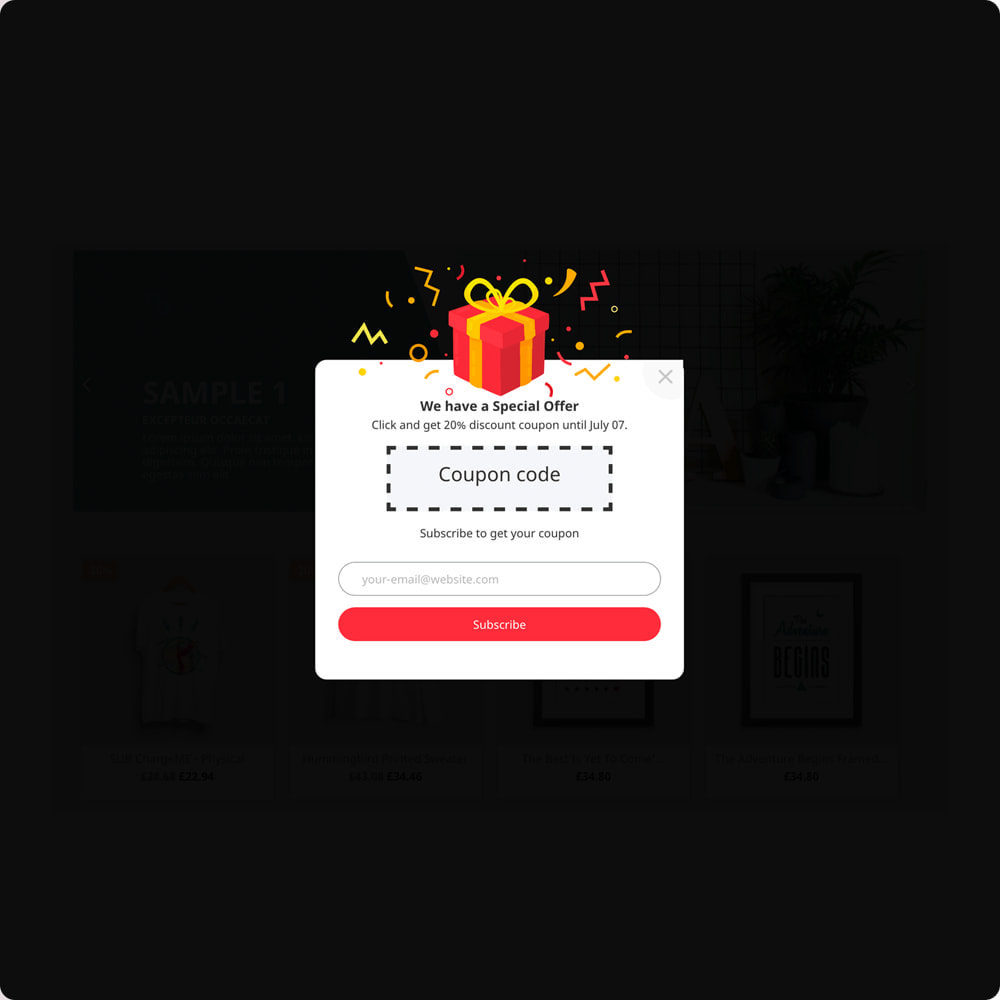 module - Newsletter y SMS - Newsletter Popup: MailChimp, HubSpot, SendinBlue + API - 10