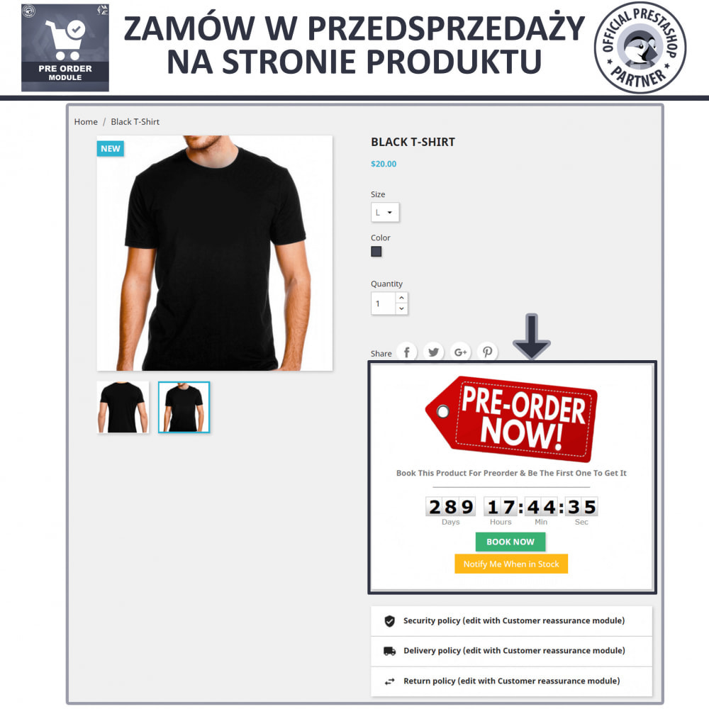 module - Procedury składania zamówień - Pre-Order - Advance Booking | Out of Stock Selling - 3
