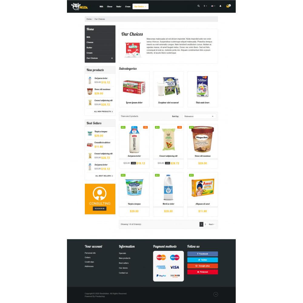 theme - Żywność & Restauracje - VP_Milk - Page Builder - 2