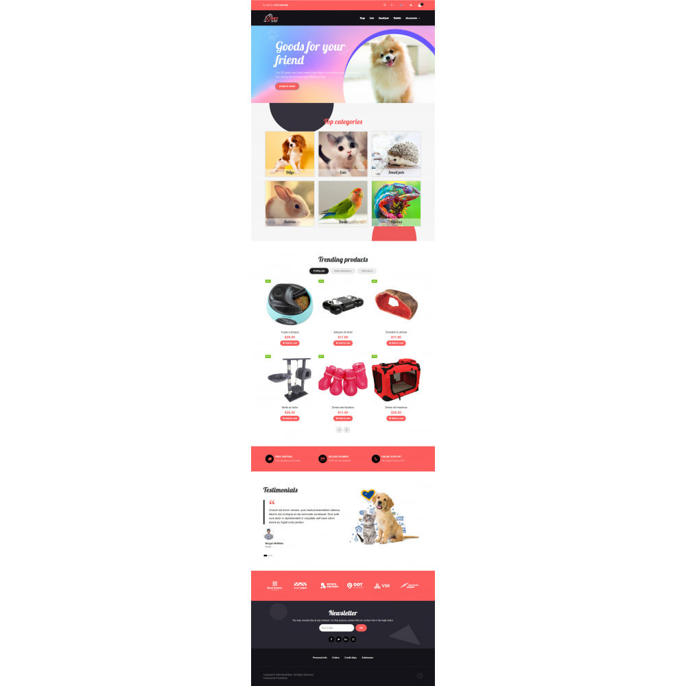 theme - Animals & Pets - VP_PetShop - Page Builder - 2