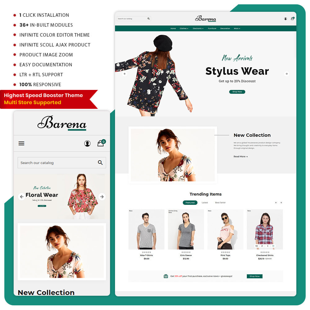 theme - Fashion & Shoes - Barena Fashion Big Mall - 1