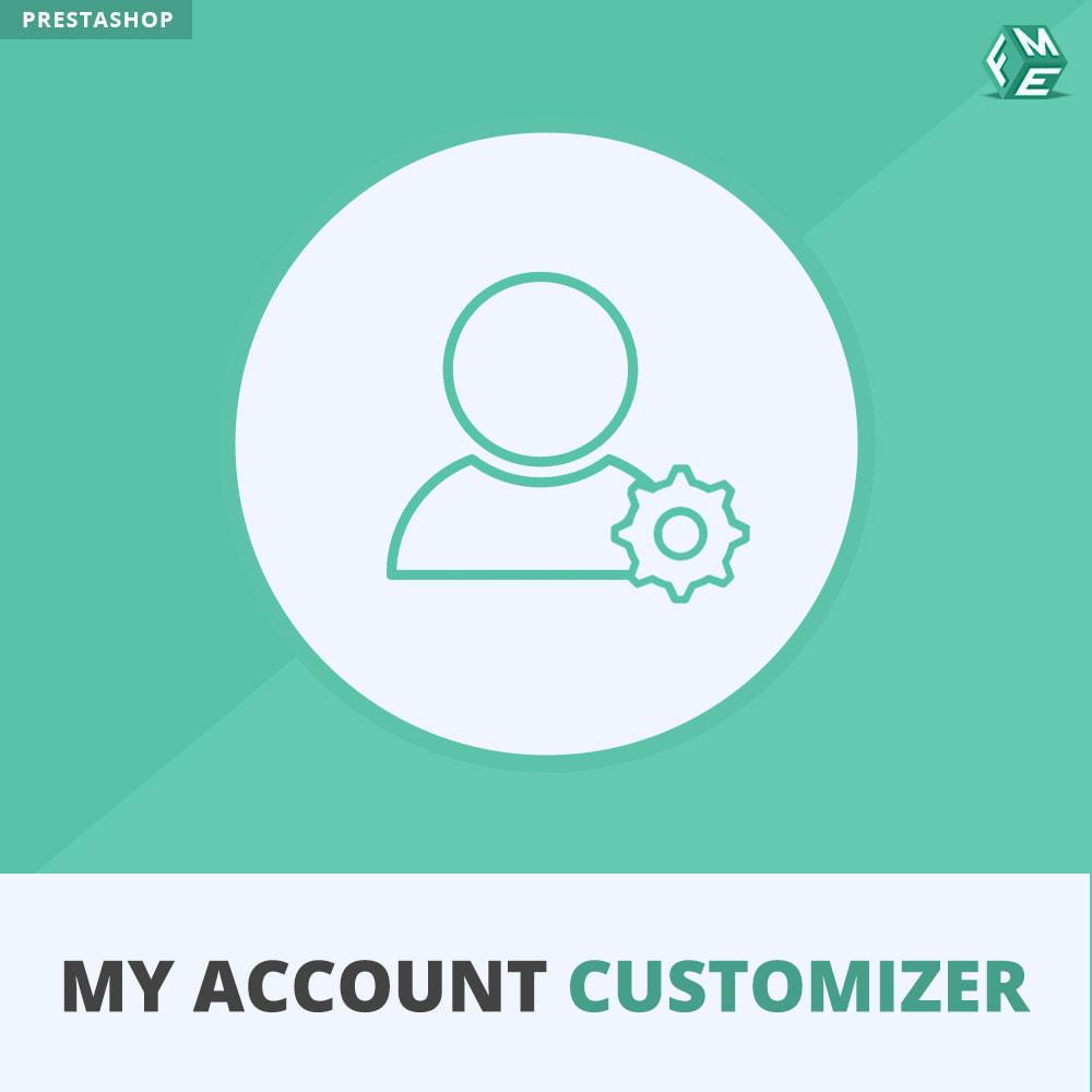 module - Administratieve tools - Mijn Account Aanpassen - 1