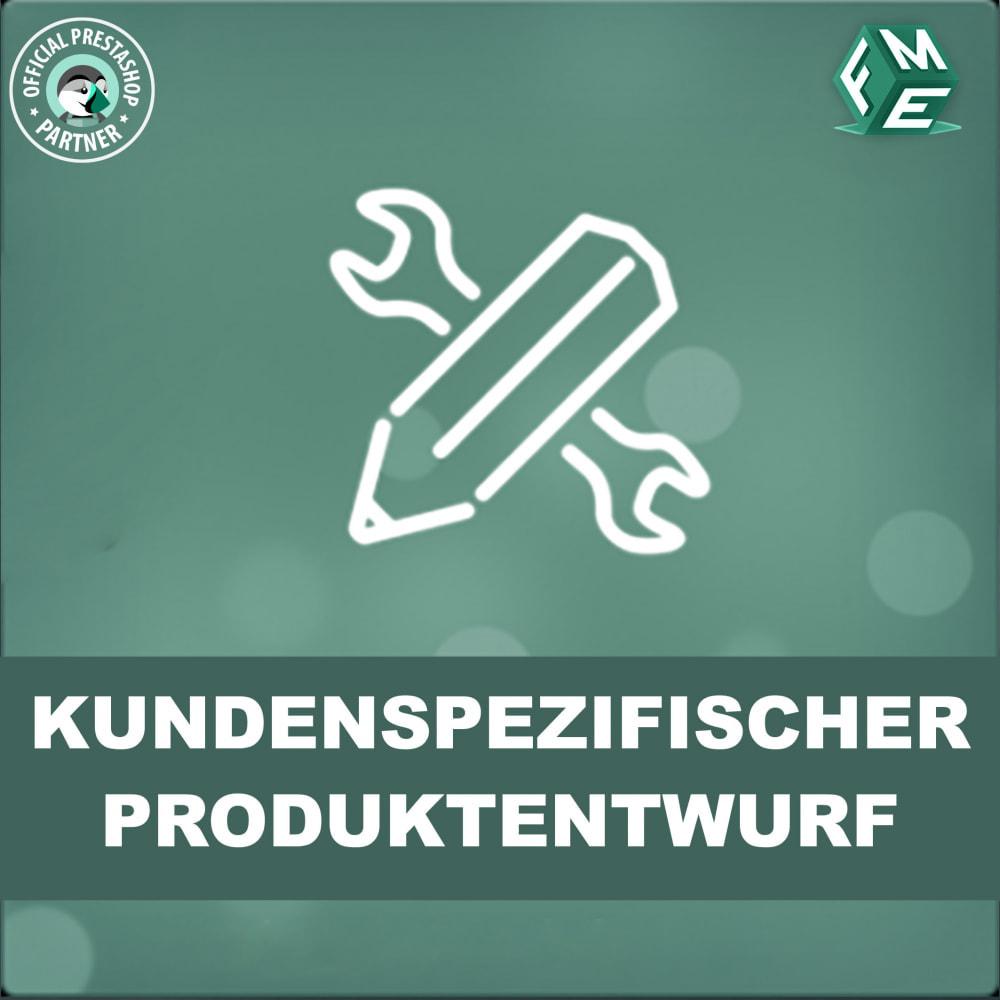 module - Bundels & Personalisierung - Benutzerdefinierter Produktdesigner, Produktanpassung - 1