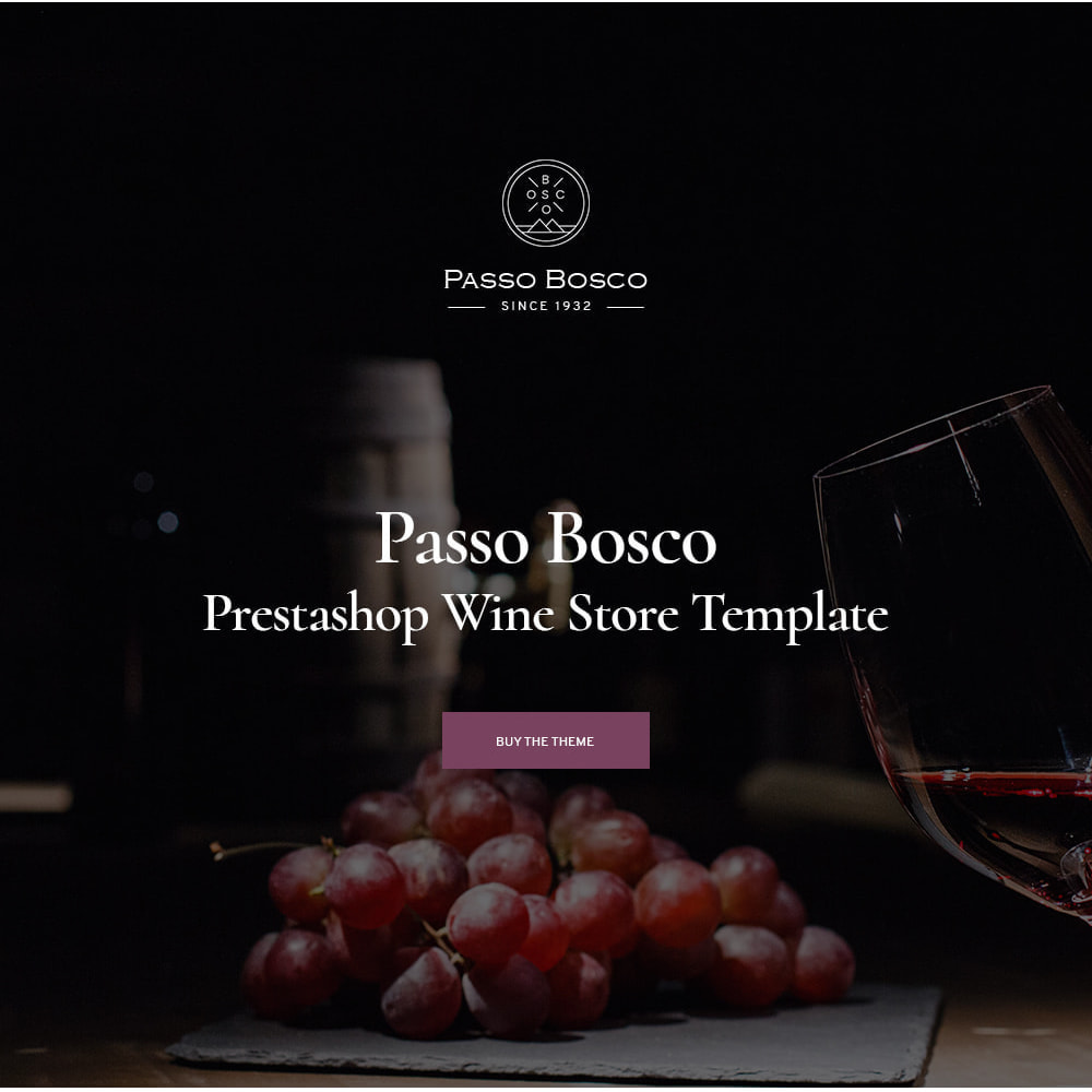 theme - Boissons & Tabac - Passo Bosco - Winery Drink Store - 1