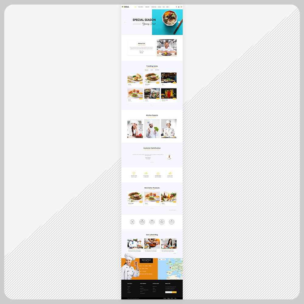 theme - Lebensmittel & Restaurants - Foodle Aliments Restaurant–Food Delivery Store - 2