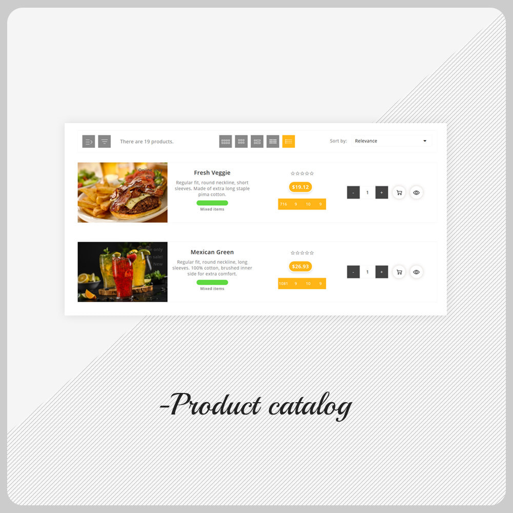 theme - Gastronomía y Restauración - Foodle Aliments Restaurant–Food Delivery Store - 11