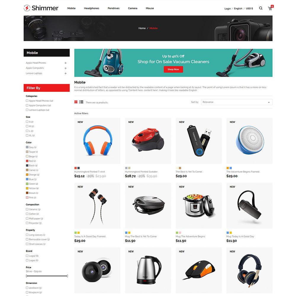 theme - Electrónica e High Tech - Electronics Digital - Tienda de drones para computadora - 4